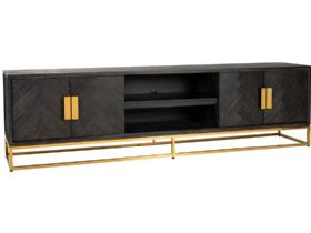 Savoy Gold 220cm 4 Door TV Unit