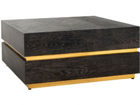 Savoy Gold Square Block Coffee Table