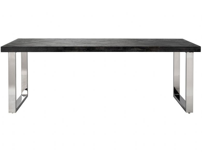 Savoy Silver 220cm Dining Table