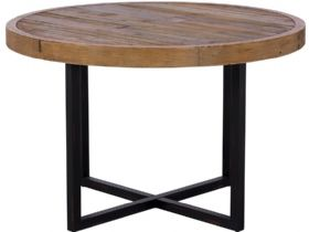 Reclaimed 120cm Round Dining Table