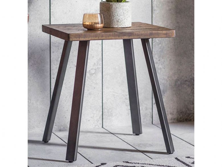 Camden Rustic Side Table