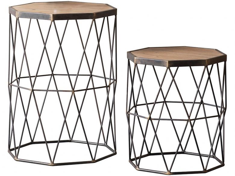 Marshall Set of 2 Side Tables