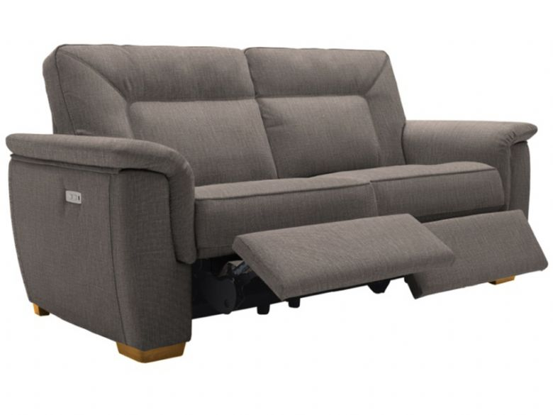 G Plan Elliot 3 Seater Double Electric Recliner Sofa