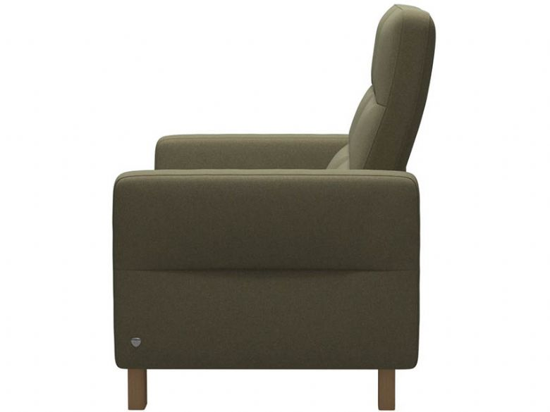 Stressless Wave High Back 2 Seater Sofa Profile