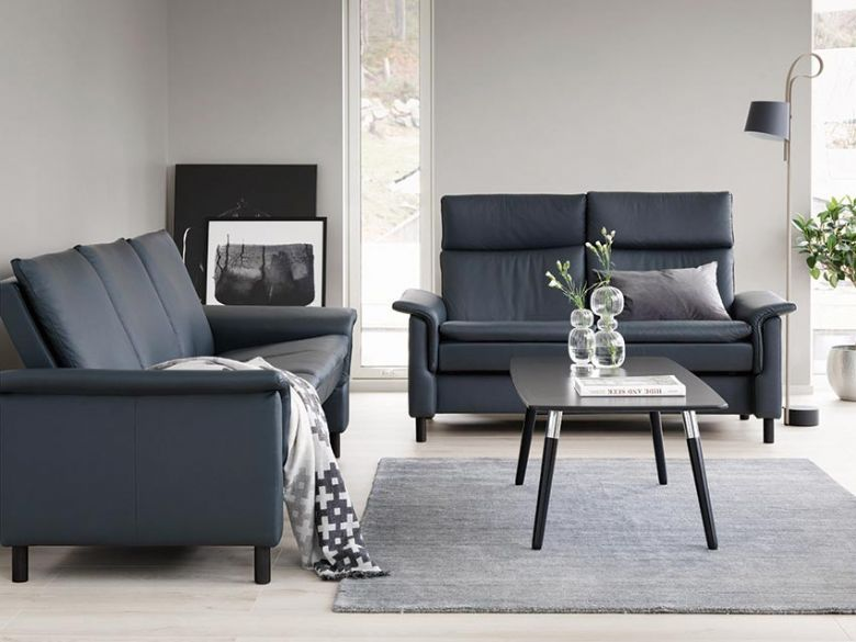 Stressless Aurora Sofa available in leather or fabric