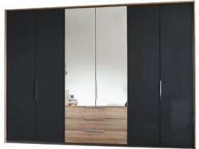 6 Door Hinged Wardrobe