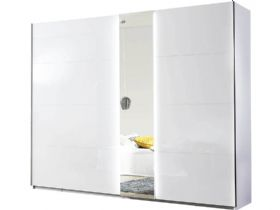280cm Gliding 2 Door Wardrobe with Lighting