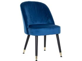 Knightsbridge Dining Chair with Gold Feet