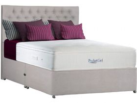 4'6 Double Platform Top Divan & Mattress