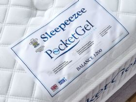 Sleepeezee Balance Mattress Label
