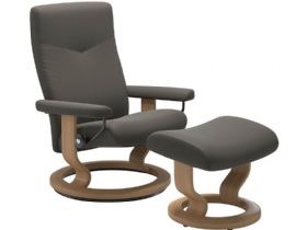 Chair & Footstool - Classic Base