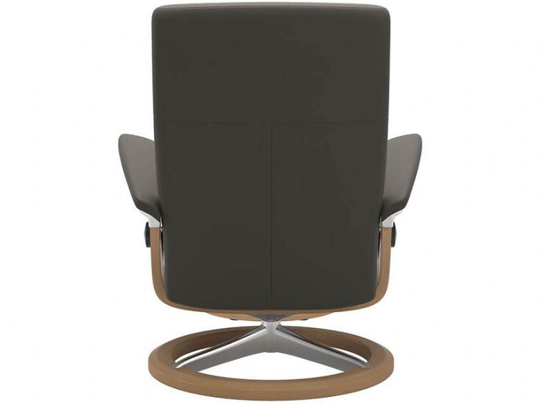 Stressless Dover Chair & Footstool with Signature Base Back