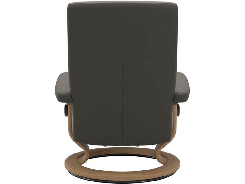 Stressless Dover Chair & Footstool with Classic Base Back