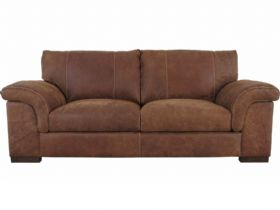 Mountback 2 Seater Leather Sofa