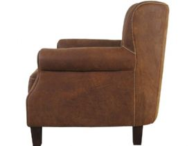 Pioneer Leather Armchair Profile