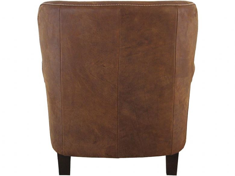 Pioneer Leather Armchair Back