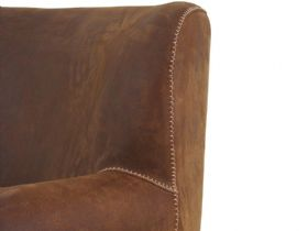 Pioneer Leather Chair Detail
