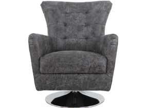 Canyon Leather Swivel Chair