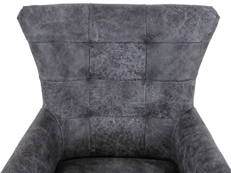 Canyon Leather Swivel Chair Detail