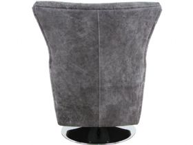 Canyon Leather Swivel Chair Back