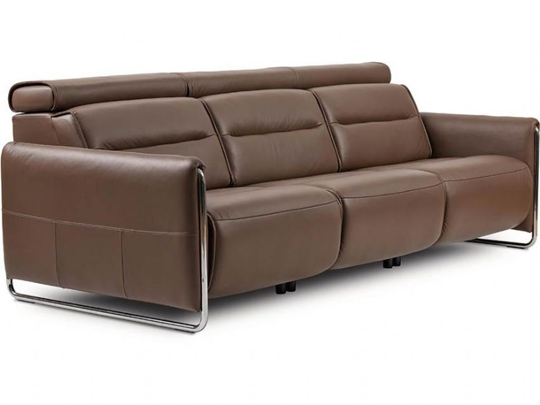 Stressless Emily Leather 3 Seater Sofa