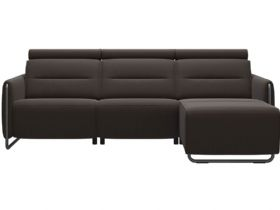 RHF Power Sofa with Chaise