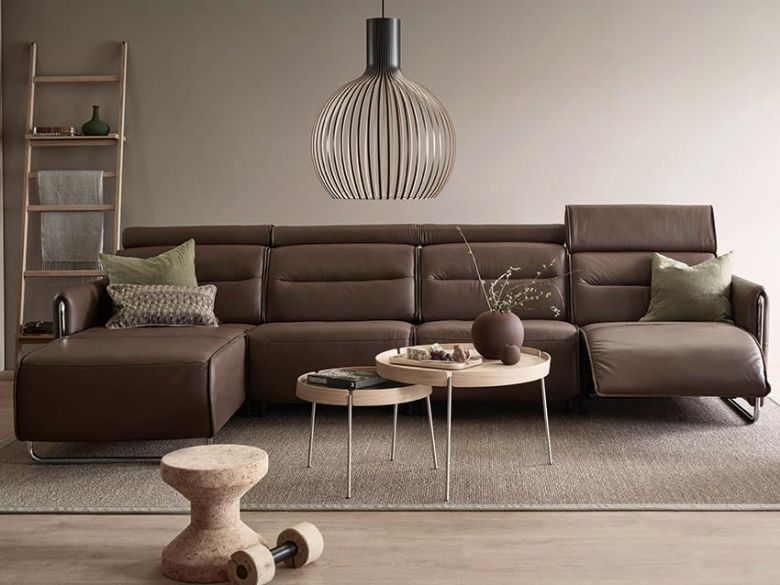 Stressless Emily Leather Sofa Range by Ekornes