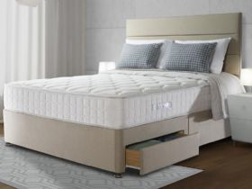 Sealy 1400 Pocket Genoa Geltex double mattress and divan set available at Lee Longlands