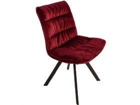 Faith Ruby Velvet Dining Chair