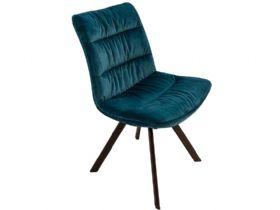 Faith Teal Velvet Dining Chair