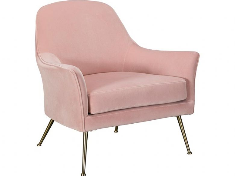 Jessica Pink Occasional Chair