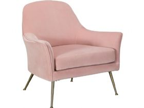 Pink Occasional Chair