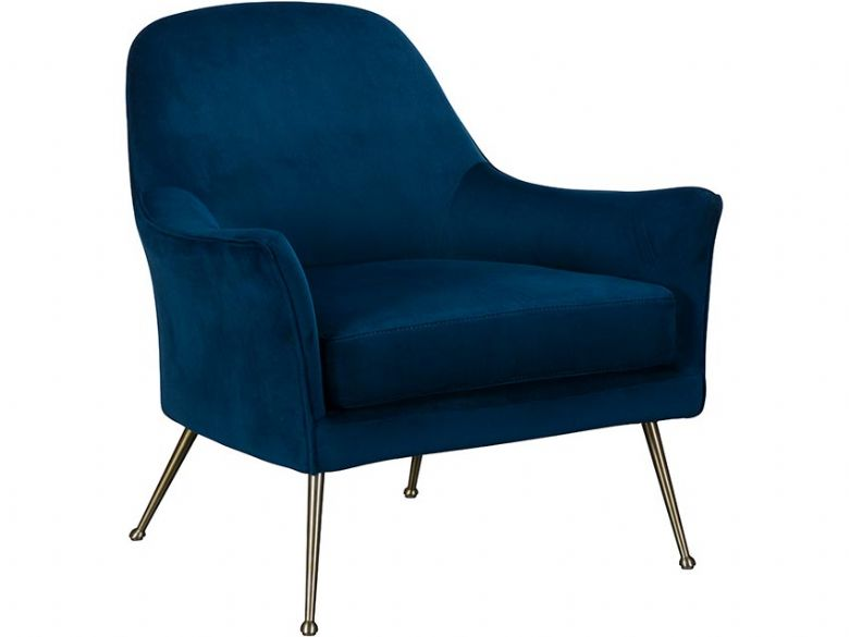 Jessica Blue Occasional Chair