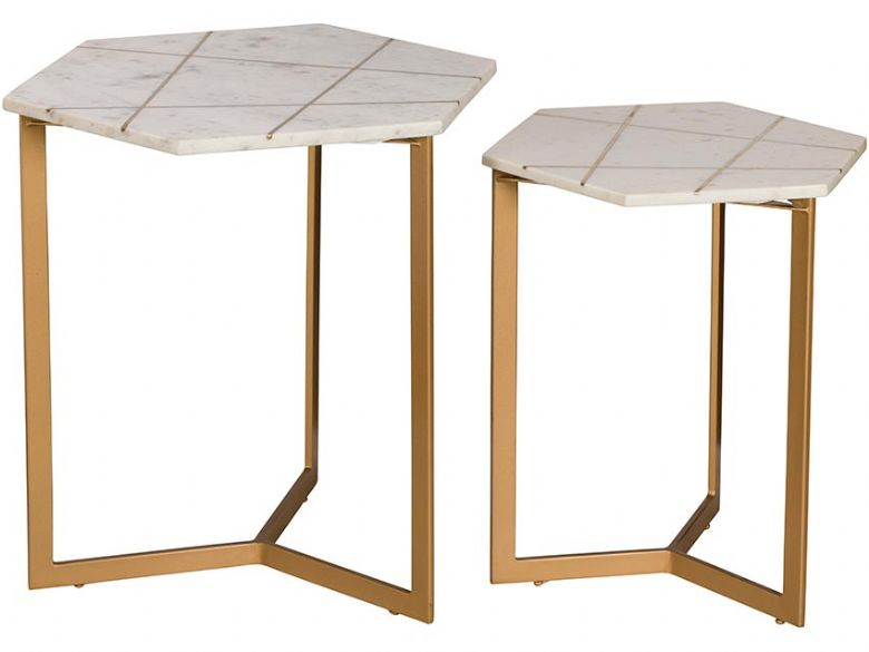 Adela Pair of Lamp Tables