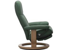 Ekornes Dual Motor Green Recliner Chair