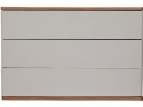 Grey 3 Drawer Chest