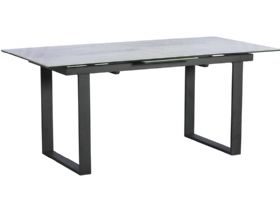 Santiago Light Grey Extending Dining Table