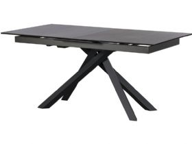 Santiago 160cm Dark Grey Extending Dining Table