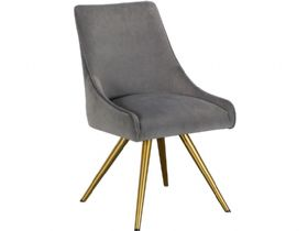 Natalia Grey Dining Chair