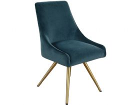 Natalia Teal Dining Chair