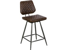 Dark Brown Bar Stool