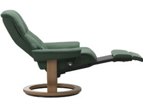 Stressless Mayfair Power Recliner in Paloma Dark Green