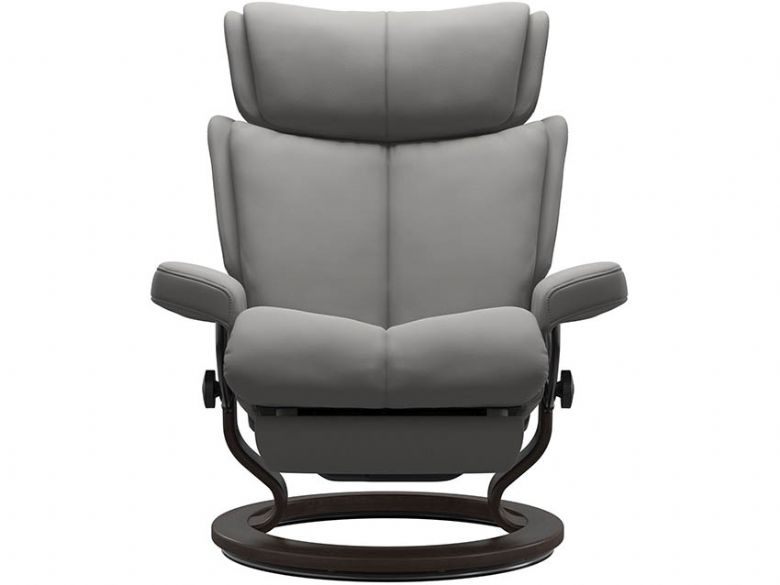 Stressless Magic Leather Power Recliner Chair