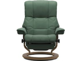 Stressless Mayfair Large Dual Motor Chair in Paloma Dark Green