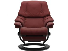 Stressless Reno Power Recliner in Paloma Cherry