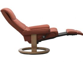 Ekornes power dual motor recliner chair available in leather or fabric
