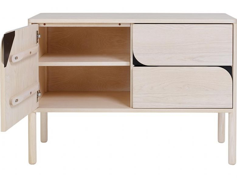 Ercol Verso Ash Small Sideboard NM Open