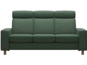 Stressless Arion High Back Leather 3 Seater Sofa
