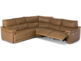 Natuzzi Editions Brama corner sofa with recliners - Lee Longlands