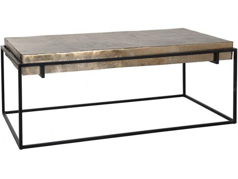 Dolce Aluminium Top Coffee Table